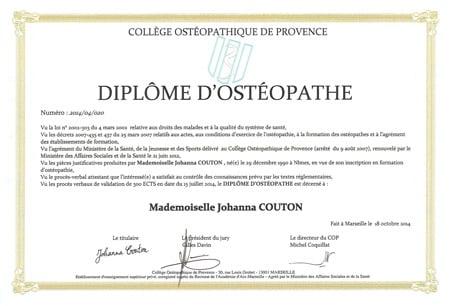 Mon diplôme